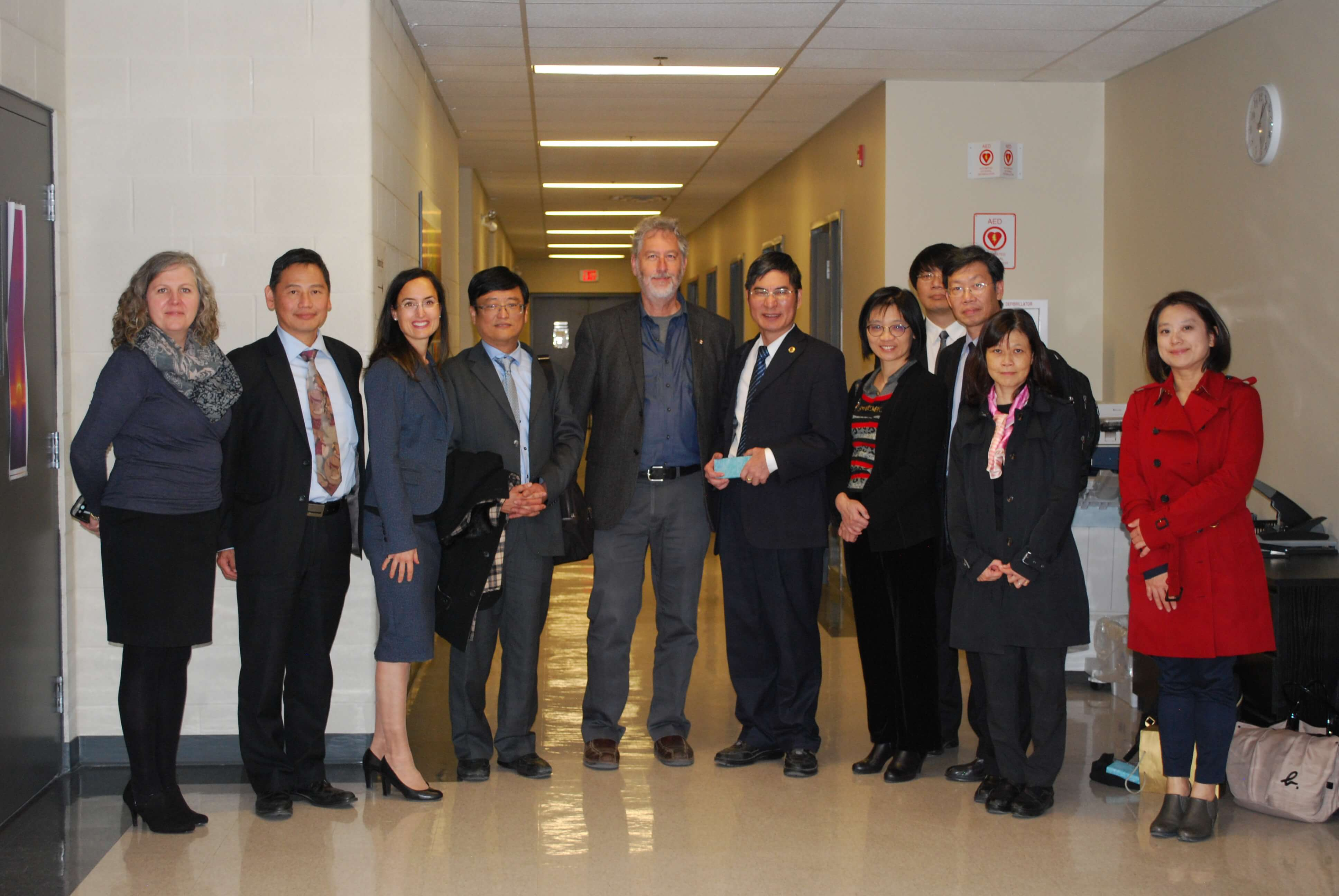 Taiwan Ministry of Science and Technology Visit