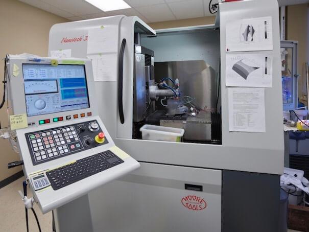 Moore Nanotech Diamond Turning Machine