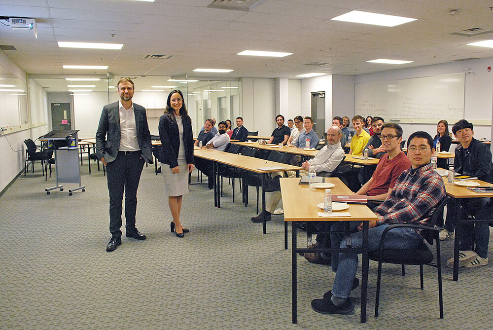 TQT hosts Lunch & Learn on Patent Development