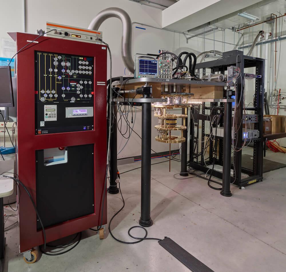 1.4mW Leiden Dilution Refrigerator