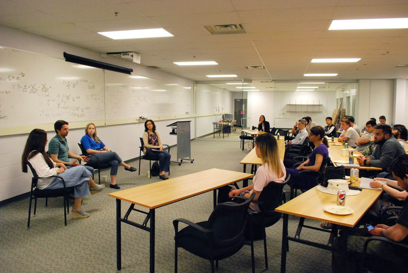 TQT hosts Lunch & Learn: From PhD to Start-up Employee