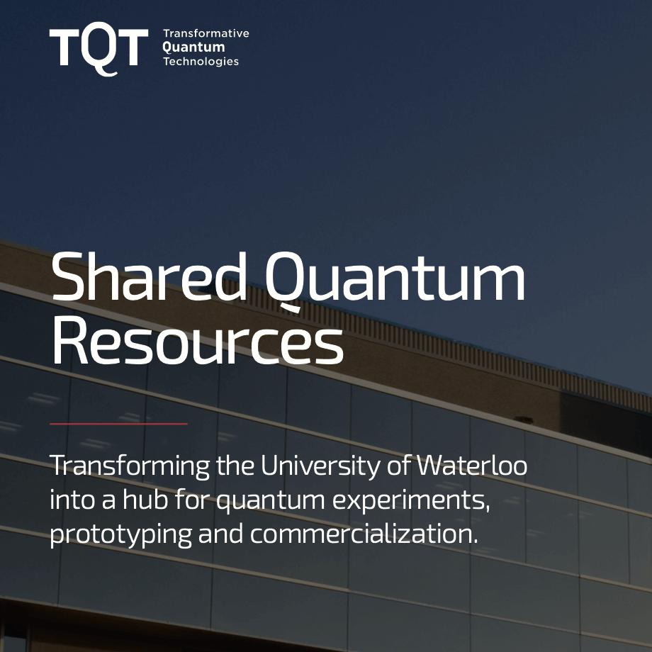 Shared Quantum Resources Brochure
